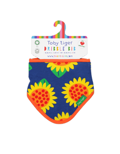 Organic  Sunflower Dribble Bib