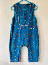 Load image into Gallery viewer, PRELOVED Pack Up The Mountain Explorer Dungarees 18-24months