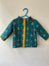 Load image into Gallery viewer, PRELOVED Climb the Mountain Sherpa Jacket 12-18months