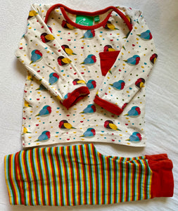 PRELOVED Rainbow Robins Playset 9-12months