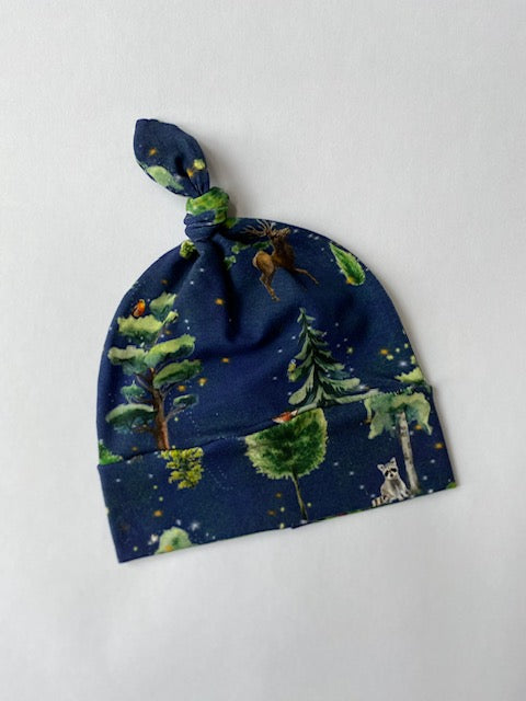 Organic Enchanted Woods Knot Hat