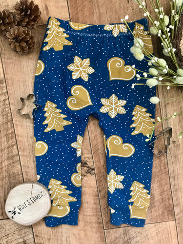 Christmas Gingerbread Organic Leggings
