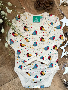 Rainbow Robins Two Pack Baby Body Set
