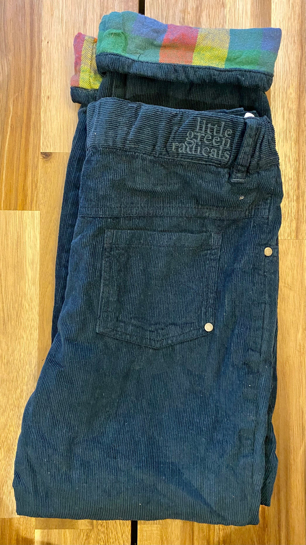 Navy Cosy Jeans 7-8 years