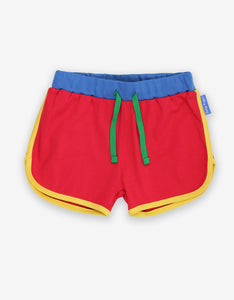 Organic Red Runnings Shorts