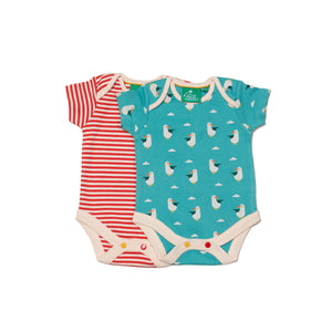 Summer Seagull Baby Body Set