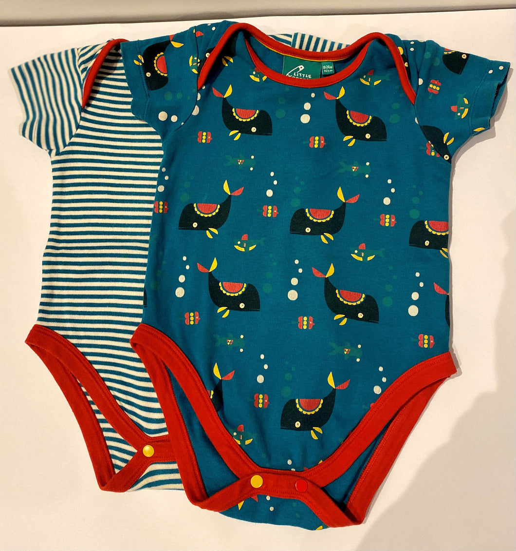 PRELOVED Sealife Body Set 18-24months