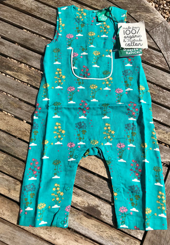 Spring Bloom Explorer Dungarees