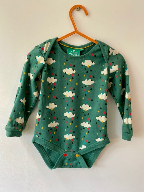 PRELOVED Falling Water Baby Body 9-12months