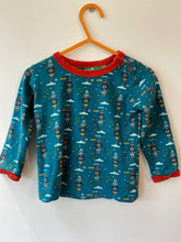 Load image into Gallery viewer, PRELOVED Night Sky Rocket Long Sleeved Tee 12-18months
