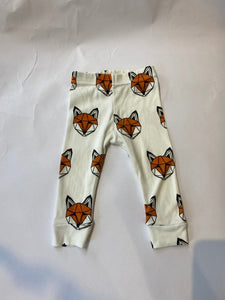 PRELOVED Just call me Fox leggings 6-9months (small fitting)