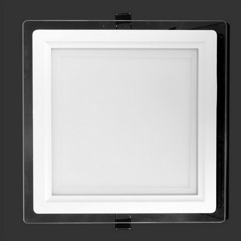 [Extra 10% off] LED Glass Panel Downlight- Square Original Core Technology 4*6W- CALF-SQ120-E