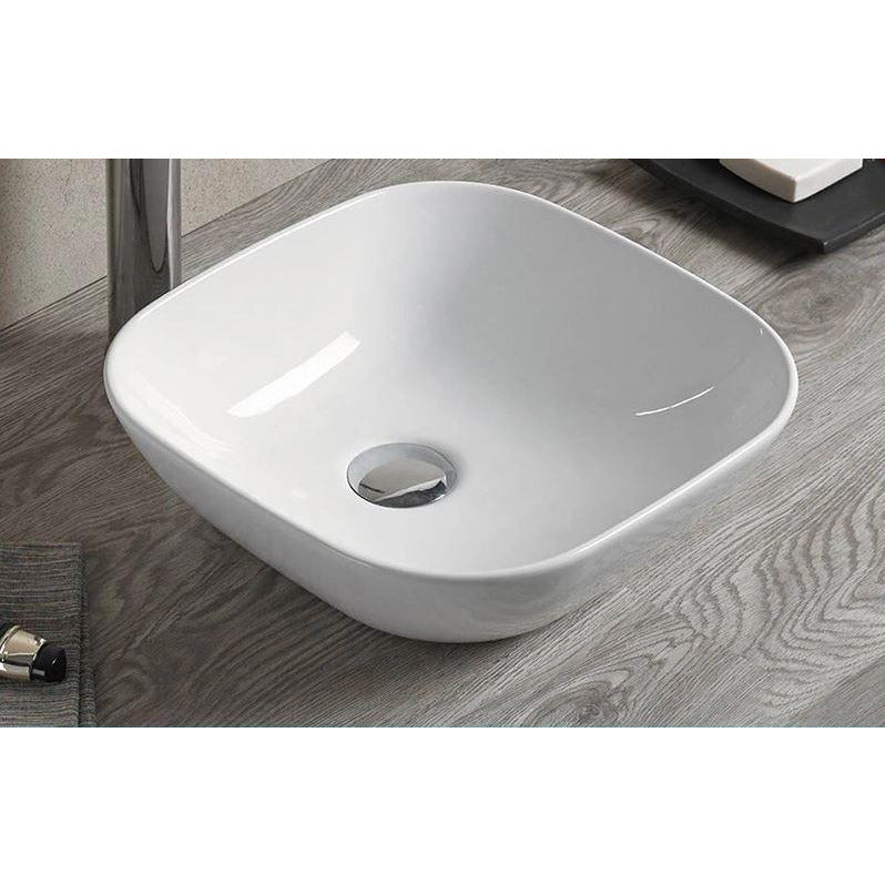 Bathroom Above Counter Sink Basin New Design Size: 415x415x145mm- CABC7060