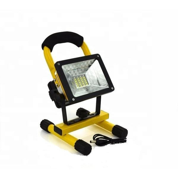 Rechargeable Led Flood Light for Work Outdoor Camping Fishing 4500 Luminous 50 Watt