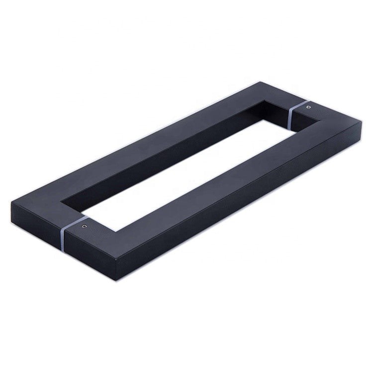 Entrance Door Pull Handle Black Color Size: 600MM Model: MY9847-600BC