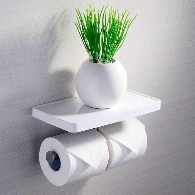 [Extra 15% off] Toilet Paper Holder– CB-F30311WH