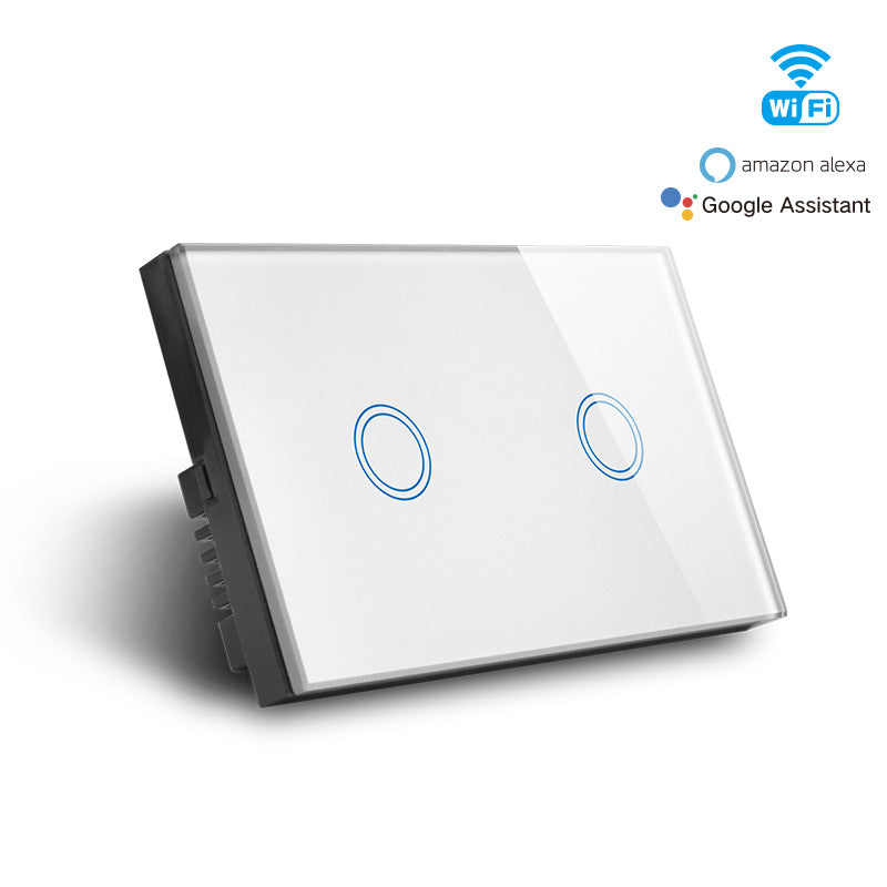 [Extra 10% off] Smart Wifi 2 Gang Switch Model: CAMG-MD02W