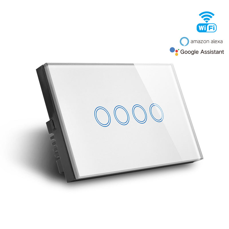 [Extra 10% off] Smart Wifi 4 Gang Switch Model: CAMG-MD04W