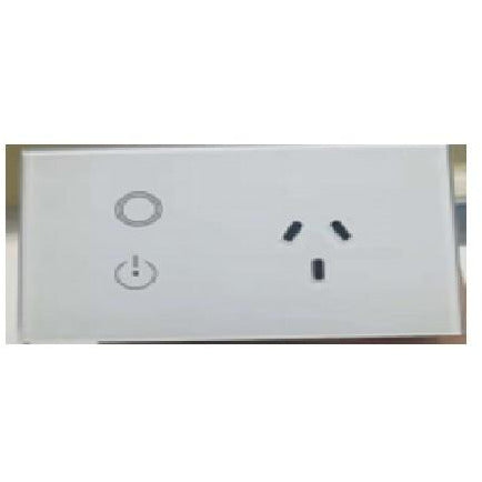Single Power Point with Switch AU Standard CAMG-AUWS01-SPPWS