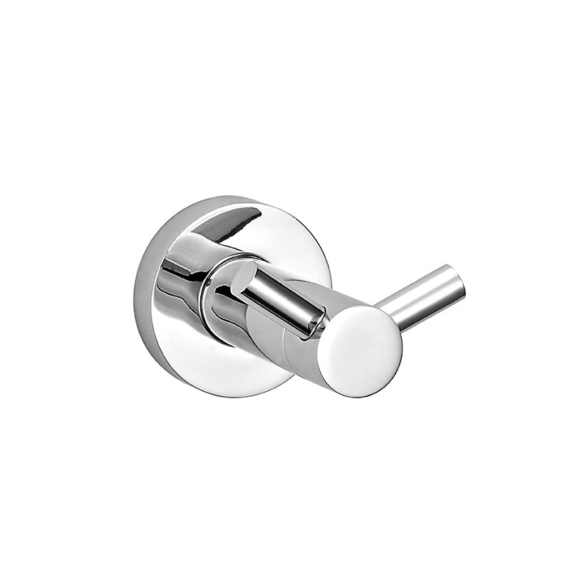 Double Robe Hook– Round- Stainless Steel- CA93904B