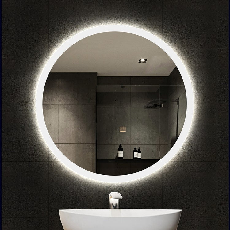 [Extra 10% off] Bathroom LED Mirror Size: 600 (W)*600(H)mm- GY-D05
