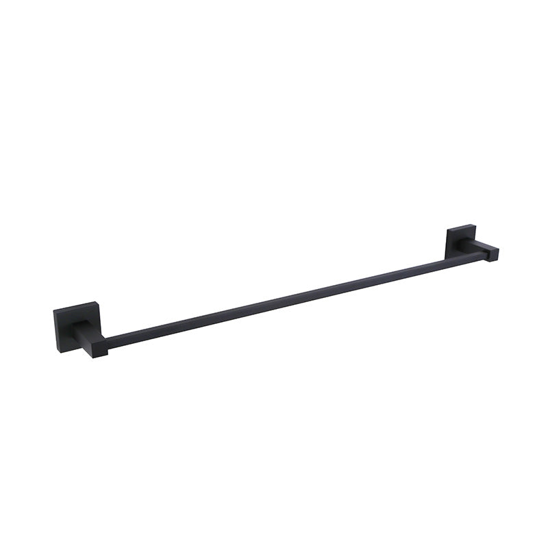 [Extra 10% off] Single Towel Rack Bar- 600mm–Square- Matte Black CA93601MB