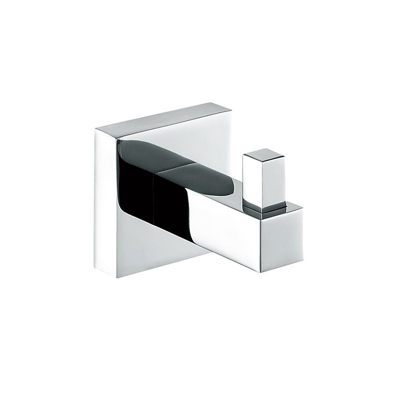 [Extra 15% off] Single Robe Hook– Square- Stainless Steel- CA93604