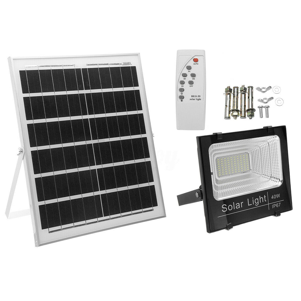 LED Solar Flood Lamp- High Quality 40W