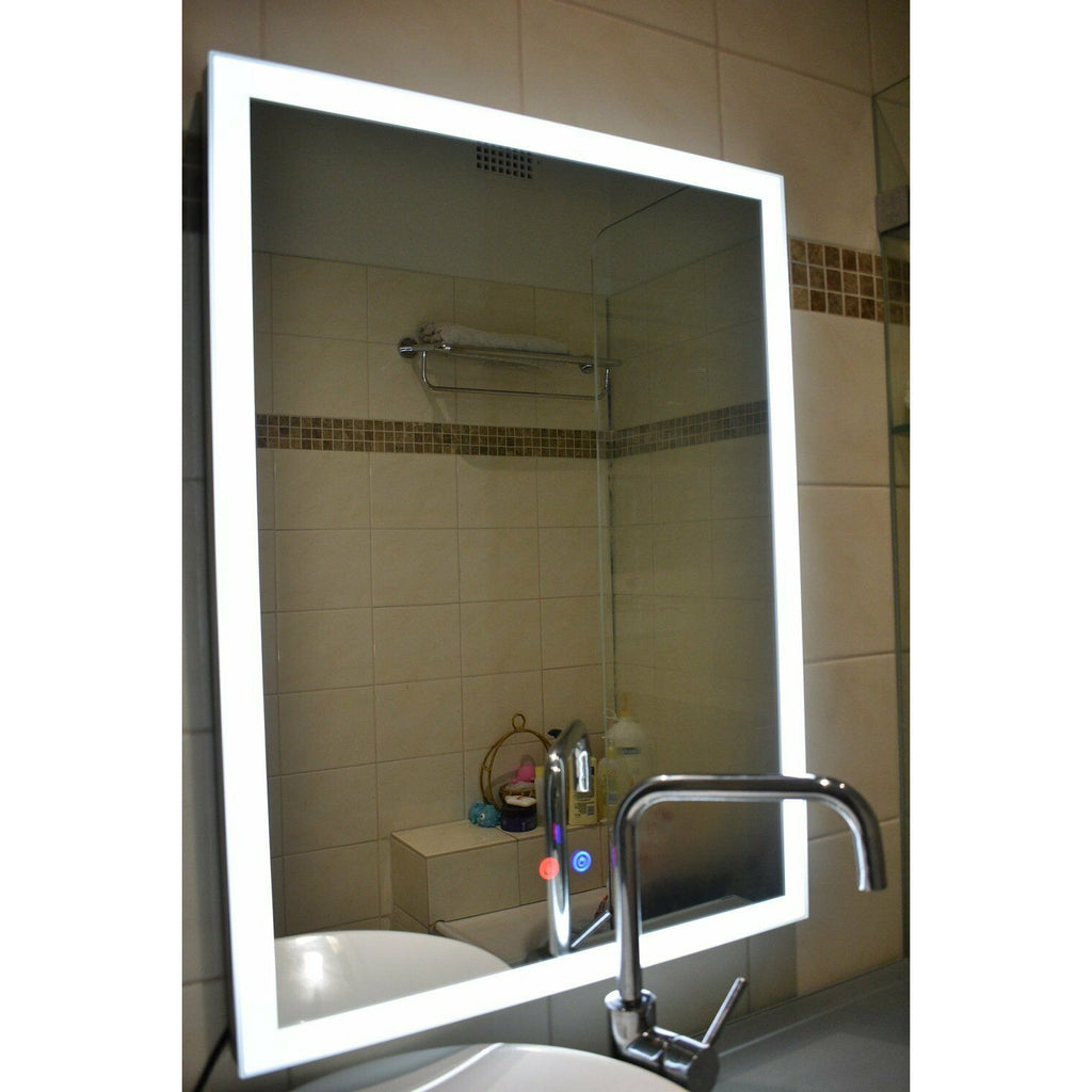 Bathroom LED Mirror with Anti Fogging Size: 600*800mm- GY-D03
