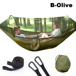Double Mosquito Camping Hammock