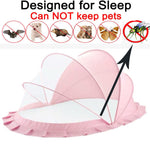 Bottomless Folding Baby Bed Net