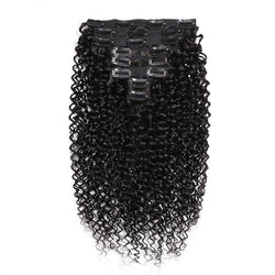 Peruvian Remy Kinky Curly Hair Clip-In Bundles - Nothing But Beauty Hair & More-Hair extensions and wigs