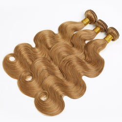 Hair Bundles Body Wave  T1B/4/27  Hair Weave Bundles 3 Tone Blonde - Nothing But Beauty Hair & More-Hair extensions and wigs