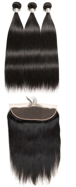 Hair Bundles with Frontal or Closure - Nothing But Beauty Hair & More-Hair extensions and wigs