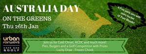 Australia Day - On the Greens
