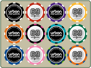 Logoed Poker Chip Ball Markers - April FREE Offer
