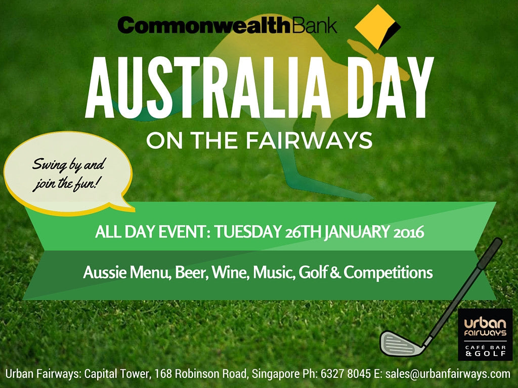 Commonwealth Bank Presents: Australia Day on the Fairways!