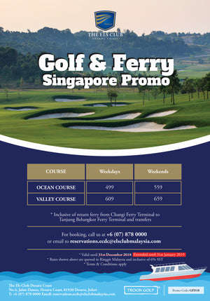 Els Club Golf and Ferry Promo