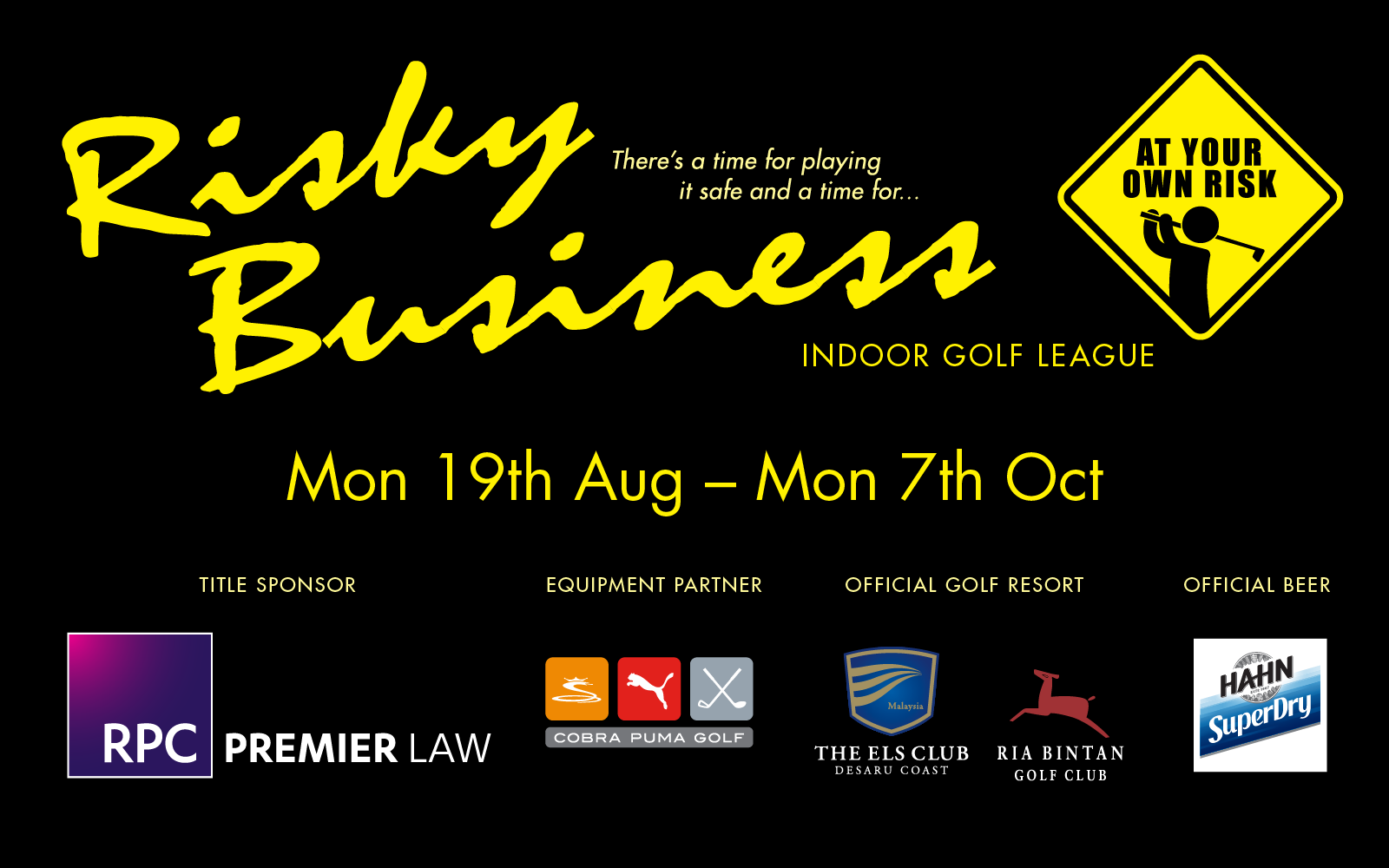Risky Business Golf Indoor Golf League
