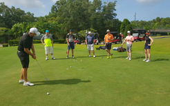 Corporate Golf Clinic helps build relationships