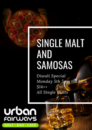 Single Malt and Samosas