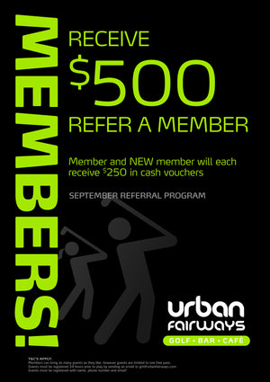 September Member Referral Programme $500