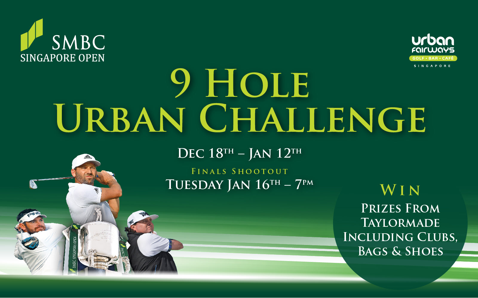SMBC SINGAPORE OPEN 2018 - 9 HOLE URBAN CHALLENGE