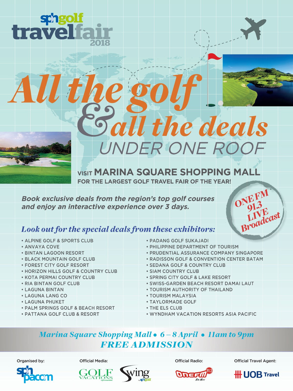 All the golf and all the deals under one roof