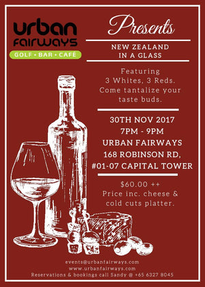 Wine Tasting - New Zealand in a Glass 30th Nov 7-9pm