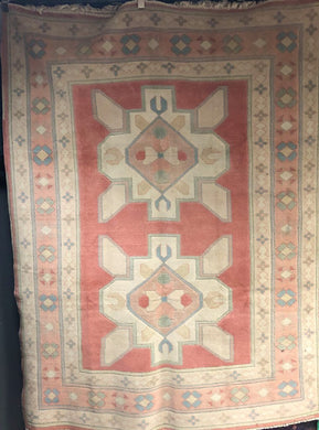 Handwoven Turkish Oushak Area Rug