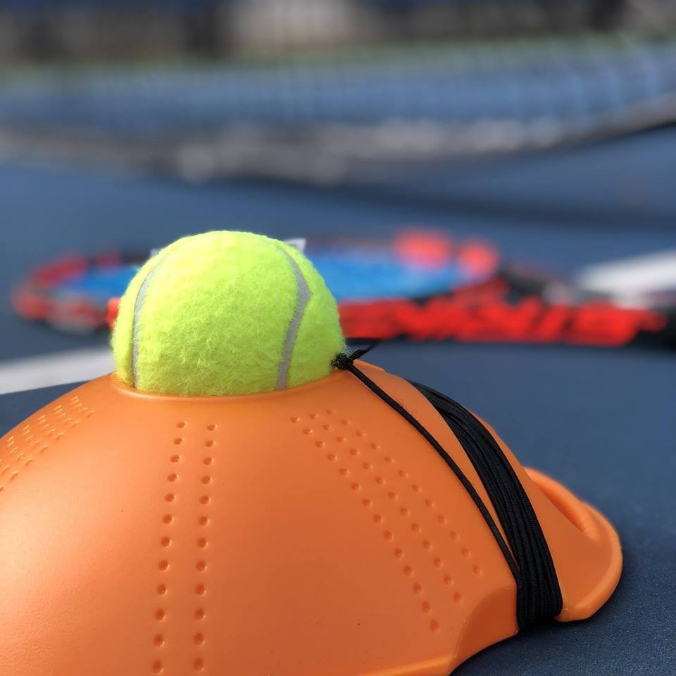 Watch A Demo of the Champion Tennis Trainer