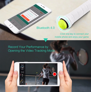 Champion Smart Tennis Sensor | Your Ultimate Personal Tennis Coach - Champion Tennis Ethan Khwaja