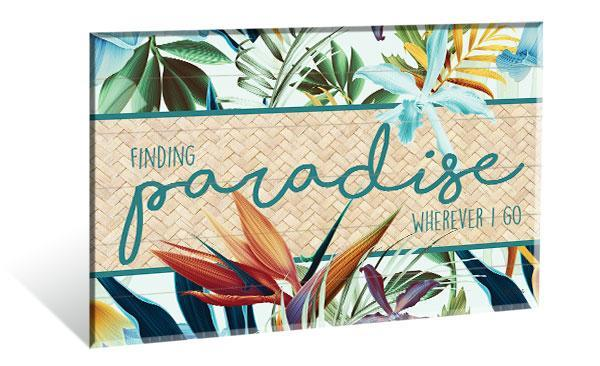 Wall Art 40x60 Paradise FINDING