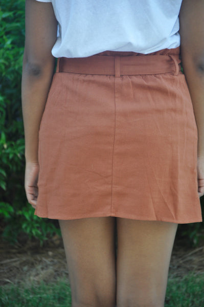 Emily Button Up Skirt